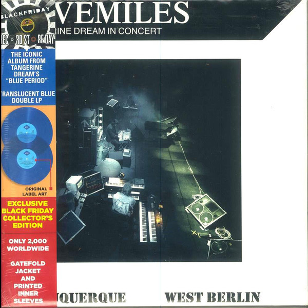 Viniluri VINIL Universal Records Tangerine Dream - Livemiles (Tangerine Dream In Concert)VINIL Universal Records Tangerine Dream - Livemiles (Tangerine Dream In Concert)