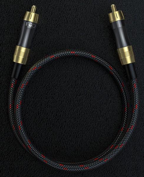 Cabluri audio Cablu Fiio LR-RCA1 Coaxial Digital 0.5mCablu Fiio LR-RCA1 Coaxial Digital 0.5m