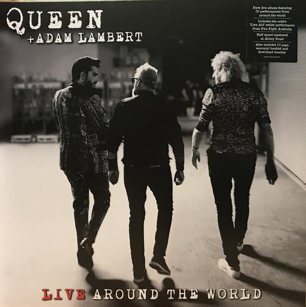 Viniluri VINIL Universal Records Queen + Adam Lambert - Live Around The WorldVINIL Universal Records Queen + Adam Lambert - Live Around The World
