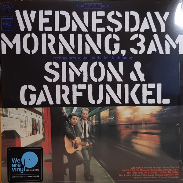 Viniluri VINIL Universal Records Simon & Garfunkel - Wednesday Morning, 3 A.M.VINIL Universal Records Simon & Garfunkel - Wednesday Morning, 3 A.M.