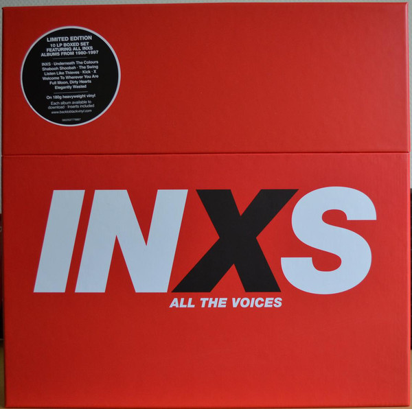 Viniluri VINIL Universal Records INXS - All The Voices (Album Collection)VINIL Universal Records INXS - All The Voices (Album Collection)