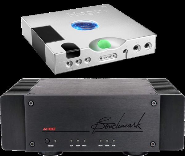 Amplificatoare de putere Amplificator Benchmark AHB2 + Chord Electronics Hugo TT 2Amplificator Benchmark AHB2 + Chord Electronics Hugo TT 2