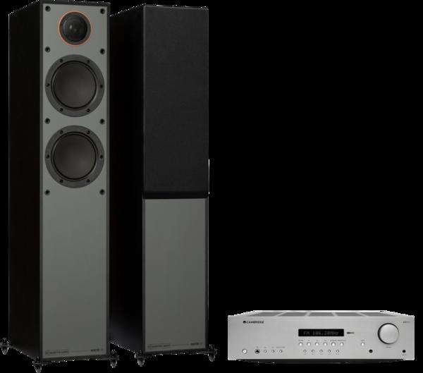 Pachete PROMO STEREO Pachet PROMO Monitor Audio Monitor 200 Black Cone + Cambridge Audio AXR85Pachet PROMO Monitor Audio Monitor 200 Black Cone + Cambridge Audio AXR85