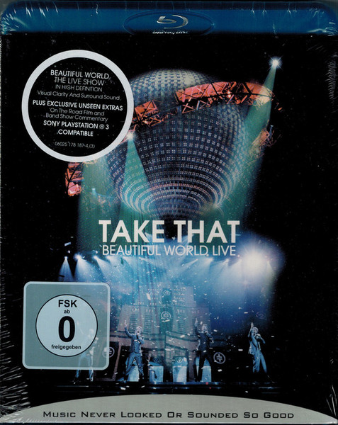 DVD & Bluray BLURAY Universal Records Take That - Beautiful World LiveBLURAY Universal Records Take That - Beautiful World Live