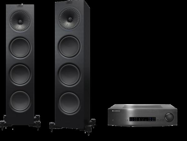Pachete PROMO STEREO Pachet PROMO KEF Q950 + Cambridge Audio CXA80Pachet PROMO KEF Q950 + Cambridge Audio CXA80