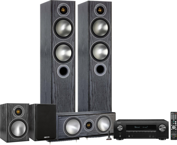 Pachete PROMO SURROUND Pachet PROMO Monitor Audio Bronze 5 5.0 + Denon AVR-X1600HPachet PROMO Monitor Audio Bronze 5 5.0 + Denon AVR-X1600H