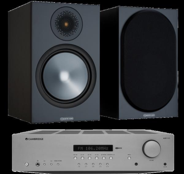 Pachete PROMO STEREO Pachet PROMO Monitor Audio Bronze 100 + Cambridge Audio AXR100Pachet PROMO Monitor Audio Bronze 100 + Cambridge Audio AXR100
