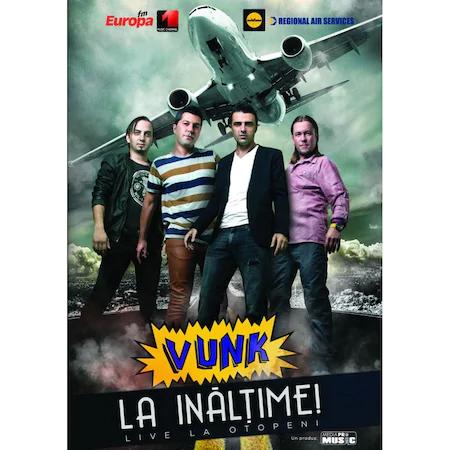 DVD & Bluray DVD Universal Music Romania Vunk - La Inaltime - Live la OtopeniDVD Universal Music Romania Vunk - La Inaltime - Live la Otopeni