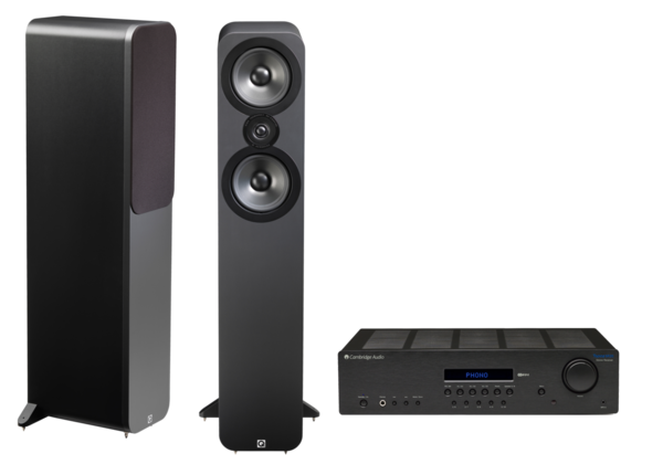 Pachete PROMO STEREO Pachet PROMO Q Acoustics 3050 + Cambridge Audio Topaz SR20Pachet PROMO Q Acoustics 3050 + Cambridge Audio Topaz SR20