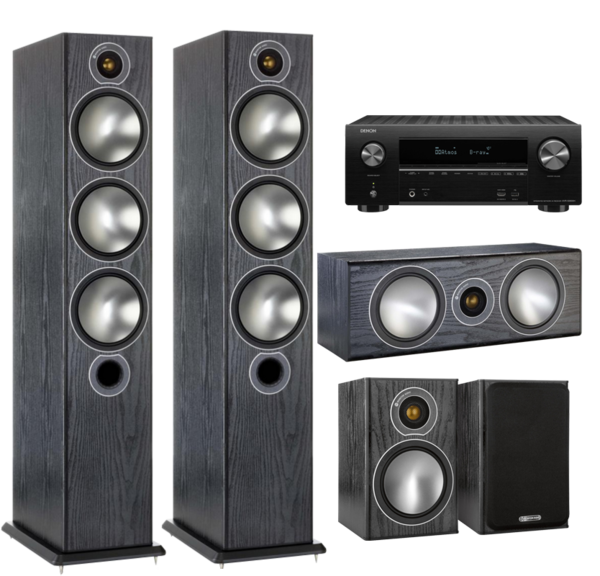 Pachete PROMO SURROUND Pachet PROMO Monitor Audio Bronze 6 pachet 5.0 + Denon AVR-X2600HPachet PROMO Monitor Audio Bronze 6 pachet 5.0 + Denon AVR-X2600H
