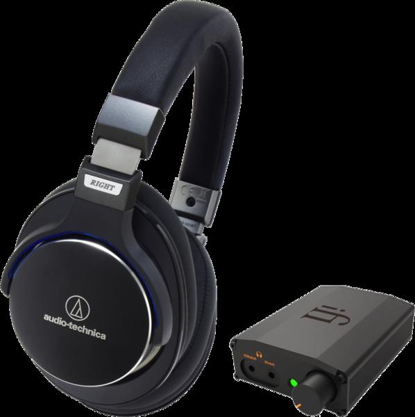 Pachete PROMO Casti si AMP Pachet PROMO Audio-Technica ATH-MSR 7 + iFi Nano iDSD Black LabelPachet PROMO Audio-Technica ATH-MSR 7 + iFi Nano iDSD Black Label