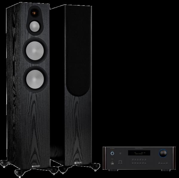 Pachete PROMO STEREO Pachet PROMO Monitor Audio Silver 300 (7G) + Rotel RA-1572 MKIIPachet PROMO Monitor Audio Silver 300 (7G) + Rotel RA-1572 MKII