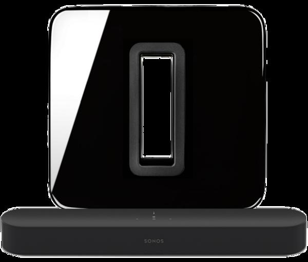 Boxe Amplificate Sonos Beam + SUBSonos Beam + SUB