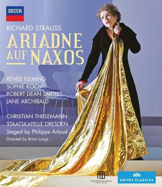 DVD & Bluray BLURAY Decca Strauss - Ariadne Auf Naxos ( Fleming, Koch, Thielemann )BLURAY Decca Strauss - Ariadne Auf Naxos ( Fleming, Koch, Thielemann )