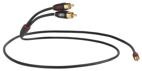 Cabluri audio  QED - Profile J2P (jack 3.5mm - RCA) QED - Profile J2P (jack 3.5mm - RCA)