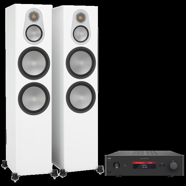 Pachete PROMO STEREO Pachet PROMO Monitor Audio Silver 500 + NAD C 388Pachet PROMO Monitor Audio Silver 500 + NAD C 388