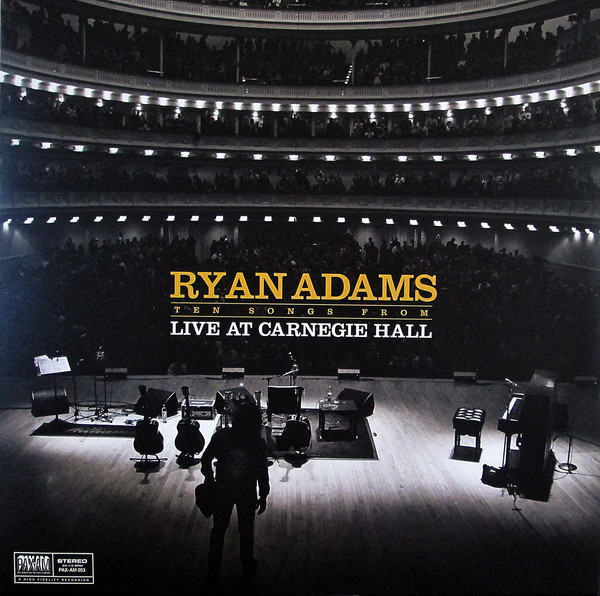 Viniluri VINIL Universal Records Ryan Adams - Ten Songs From Live At Carnegie HallVINIL Universal Records Ryan Adams - Ten Songs From Live At Carnegie Hall