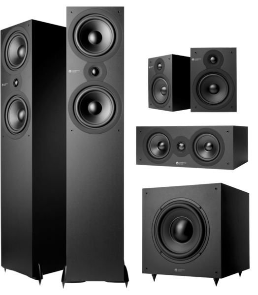 Pachete PROMO SURROUND Pachet PROMO Cambridge Audio SX80 5.1 pack Matt BlackPachet PROMO Cambridge Audio SX80 5.1 pack Matt Black