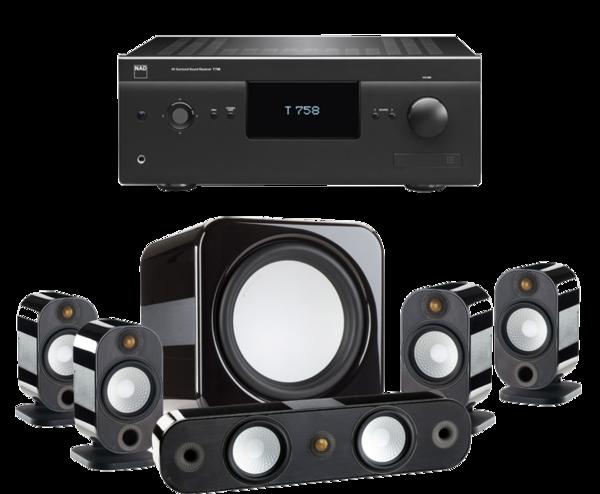 Pachete PROMO SURROUND Pachet PROMO Monitor Audio Apex pachet 5.1 + NAD T758 V3Pachet PROMO Monitor Audio Apex pachet 5.1 + NAD T758 V3