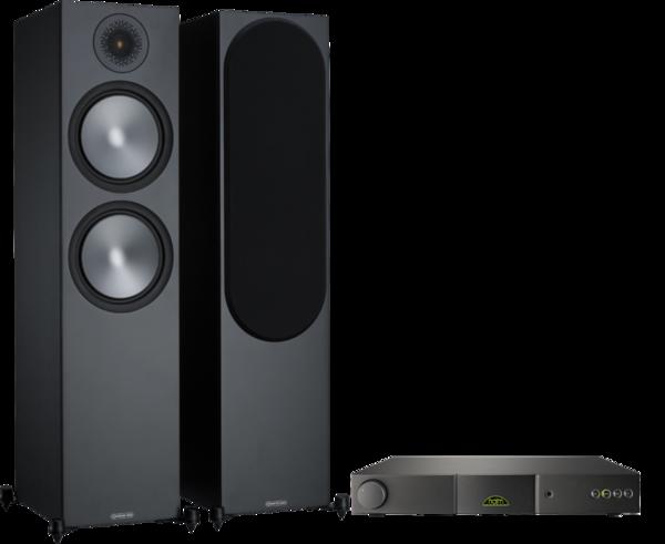 Pachete PROMO STEREO Pachet PROMO Monitor Audio Bronze 500 + Naim Nait 5SIPachet PROMO Monitor Audio Bronze 500 + Naim Nait 5SI