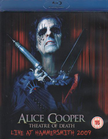 DVD & Bluray BLURAY Universal Records Alice Cooper - Theatre Of Death - Live At Hammersmith 2009BLURAY Universal Records Alice Cooper - Theatre Of Death - Live At Hammersmith 2009