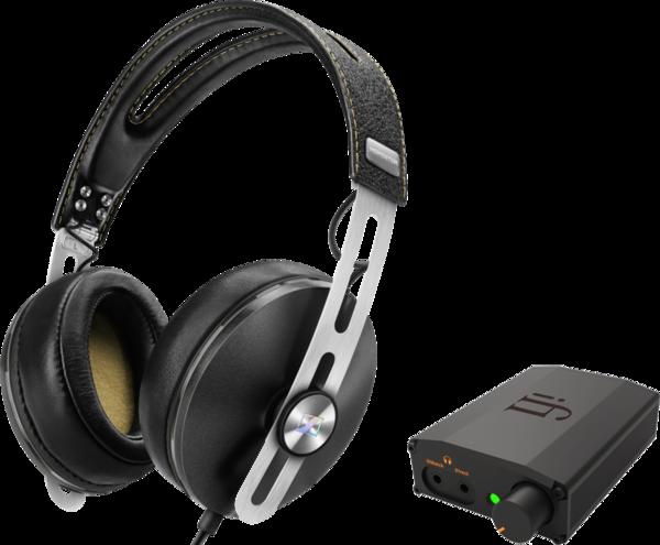 Pachete PROMO Casti si AMP Pachet PROMO Sennheiser Momentum Over-Ear (M2) + iFi Nano iDSD BlackPachet PROMO Sennheiser Momentum Over-Ear (M2) + iFi Nano iDSD Black