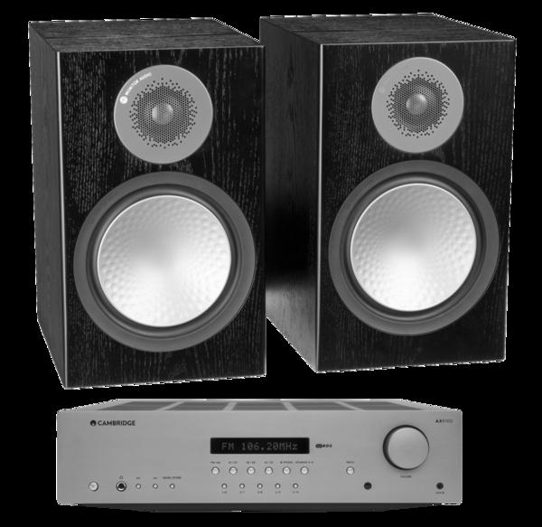 Pachete PROMO STEREO Pachet PROMO Monitor Audio Silver 100 + Cambridge Audio AXR100Pachet PROMO Monitor Audio Silver 100 + Cambridge Audio AXR100