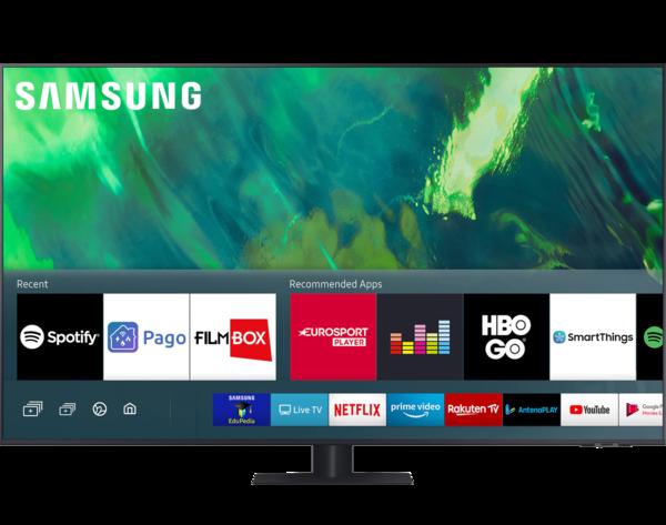 Televizoare TV Samsung 65Q70A, 163 cm, Smart, 4K Ultra HD, QLEDTV Samsung 65Q70A, 163 cm, Smart, 4K Ultra HD, QLED