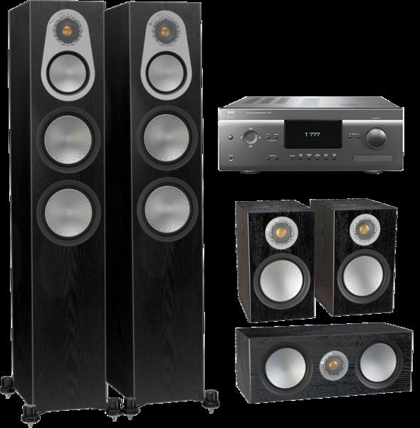 Pachete PROMO SURROUND Pachet PROMO Monitor Audio Silver 300 5.0 + NAD T777 V3Pachet PROMO Monitor Audio Silver 300 5.0 + NAD T777 V3