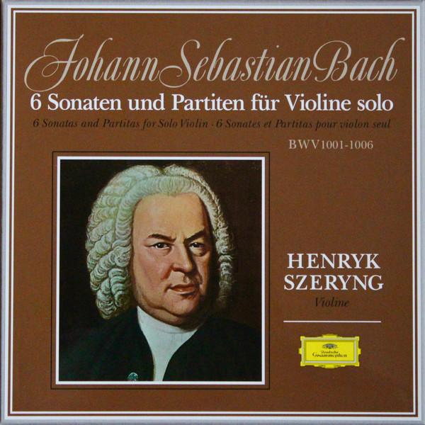 Muzica VINIL Deutsche Grammophon (DG) Bach - Henryk Szeryng - 6 Sonaten Und Partiten Für Violine Solo BWV 1001-1006VINIL Deutsche Grammophon (DG) Bach - Henryk Szeryng - 6 Sonaten Und Partiten Für Violine Solo BWV 1001-1006