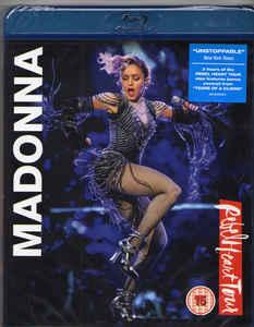 DVD & Bluray BLURAY Universal Records Madonna - Rebel Heart TourBLURAY Universal Records Madonna - Rebel Heart Tour