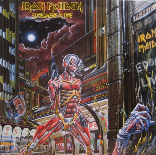 Viniluri VINIL Universal Records Iron Maiden - Somewhere In TimeVINIL Universal Records Iron Maiden - Somewhere In Time