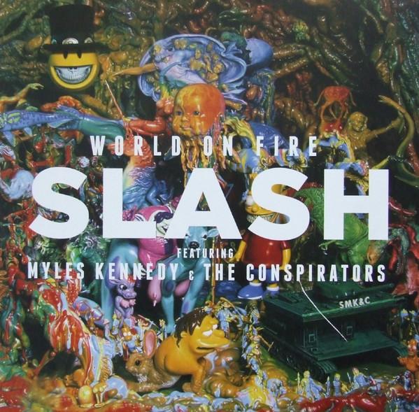 Viniluri VINIL Universal Records Slash, Myles Kennedy, The Conspirators - World On FireVINIL Universal Records Slash, Myles Kennedy, The Conspirators - World On Fire