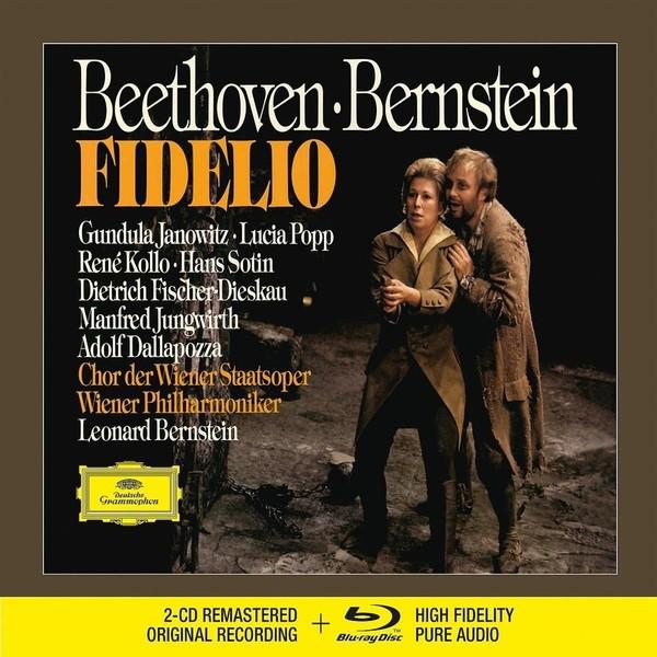 Muzica CD CD Deutsche Grammophon (DG) Beethoven - Fidelio ( Bernstein - Janowitz, Kollo, Popp ) CD + BluRay AudioCD Deutsche Grammophon (DG) Beethoven - Fidelio ( Bernstein - Janowitz, Kollo, Popp ) CD + BluRay Audio