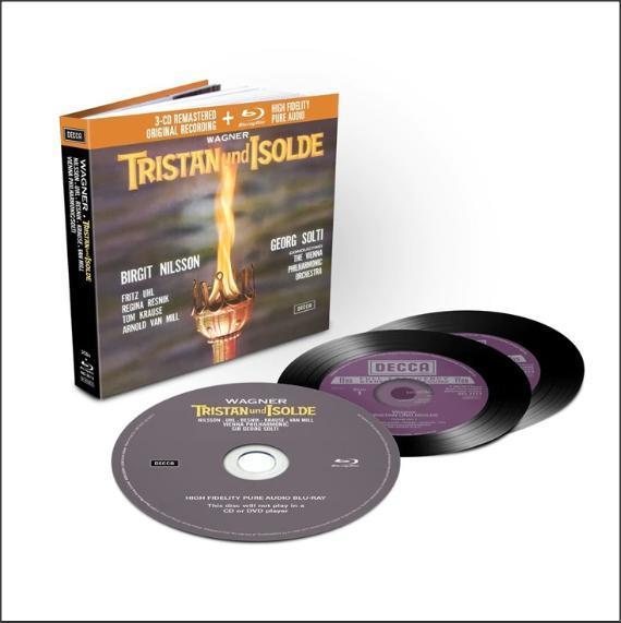 Muzica CD CD Decca Wagner: Tristan Und Isolde ( Solti - Nilsson, Uhl, Resnik, Krause ) CD + BluRay AudioCD Decca Wagner: Tristan Und Isolde ( Solti - Nilsson, Uhl, Resnik, Krause ) CD + BluRay Audio