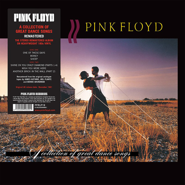 Viniluri VINIL Universal Records Pink Floyd - A Collection Of Great Dance SongsVINIL Universal Records Pink Floyd - A Collection Of Great Dance Songs