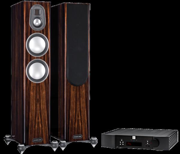 Pachete PROMO STEREO Pachet PROMO Monitor Audio Gold 200 (5G) + MOON by Simaudio 340i XPachet PROMO Monitor Audio Gold 200 (5G) + MOON by Simaudio 340i X