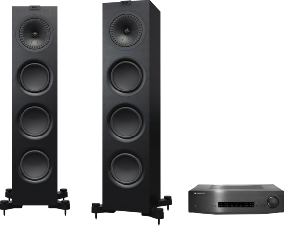 Pachete PROMO STEREO Pachet PROMO KEF Q750 + Cambridge Audio CXA60Pachet PROMO KEF Q750 + Cambridge Audio CXA60