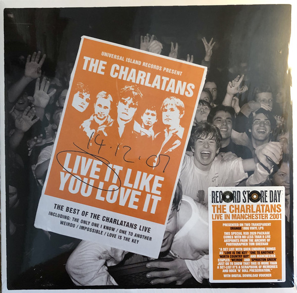 Viniluri VINIL Universal Records The Charlatans - Live It Like You Love ItVINIL Universal Records The Charlatans - Live It Like You Love It