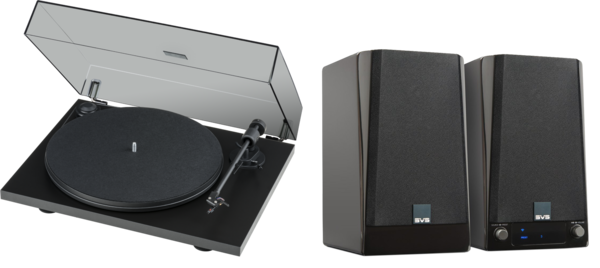 Pachete PROMO STEREO Pachet PROMO ProJect Primary E Phono + SVS Prime wireless NegruPachet PROMO ProJect Primary E Phono + SVS Prime wireless Negru