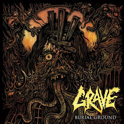Viniluri VINIL Universal Records Grave - Burial Ground (Re-Issue 2019)VINIL Universal Records Grave - Burial Ground (Re-Issue 2019)