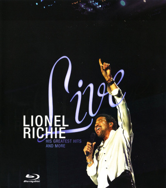 DVD & Bluray BLURAY Universal Records Lionel Richie - Live: His Greatest Hits And MoreBLURAY Universal Records Lionel Richie - Live: His Greatest Hits And More