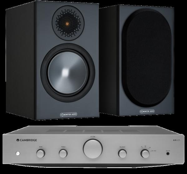 Pachete PROMO STEREO Pachet PROMO Monitor Audio Bronze 50 + Cambridge Audio AXA25Pachet PROMO Monitor Audio Bronze 50 + Cambridge Audio AXA25