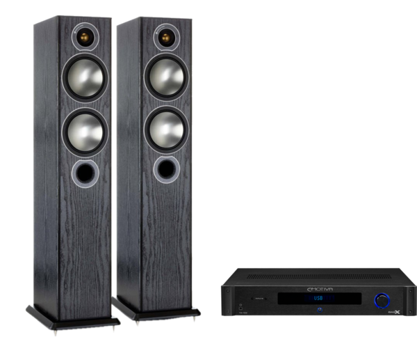 Pachete PROMO STEREO Pachet PROMO Monitor Audio Bronze 5 + Emotiva BasX TA-100Pachet PROMO Monitor Audio Bronze 5 + Emotiva BasX TA-100