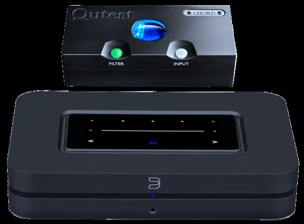 DAC-uri DAC Chord Electronics Qutest + Bluesound NodeDAC Chord Electronics Qutest + Bluesound Node