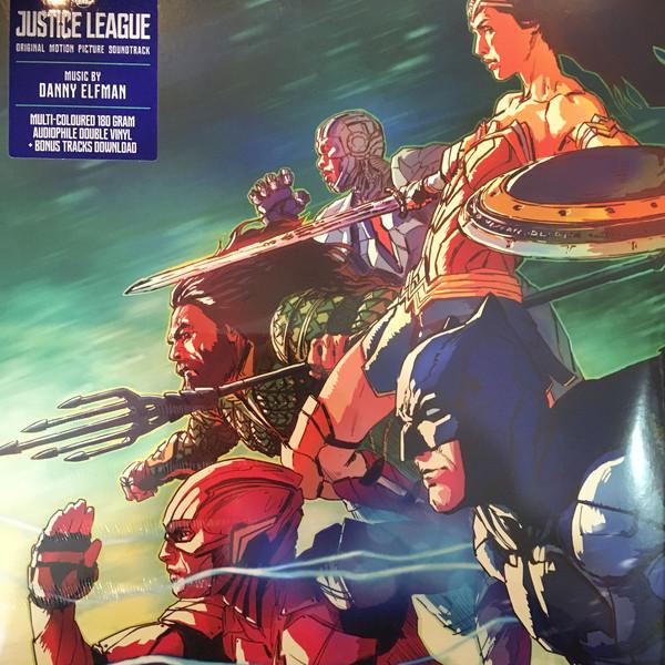 Viniluri VINIL Universal Records Danny Elfman - Justice League (Original Motion PictureVINIL Universal Records Danny Elfman - Justice League (Original Motion Picture