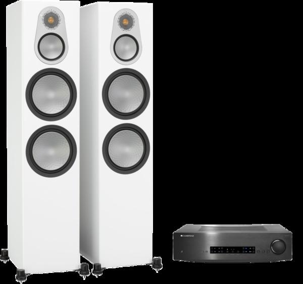 Pachete PROMO STEREO Pachet PROMO Monitor Audio Silver 500 + Cambridge Audio CXA80Pachet PROMO Monitor Audio Silver 500 + Cambridge Audio CXA80