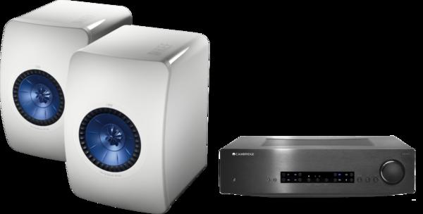 Pachete PROMO STEREO Pachet PROMO KEF LS50 + Cambridge Audio CXA60Pachet PROMO KEF LS50 + Cambridge Audio CXA60