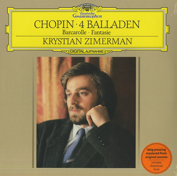 Viniluri VINIL Universal Records Krystian Zimerman - Chopin: 4 BalladenVINIL Universal Records Krystian Zimerman - Chopin: 4 Balladen
