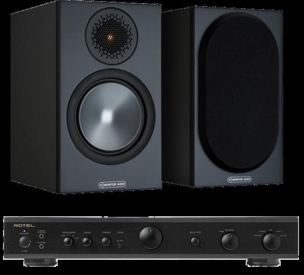 Pachete PROMO STEREO Pachet PROMO Monitor Audio Bronze 50 + Rotel A-10Pachet PROMO Monitor Audio Bronze 50 + Rotel A-10